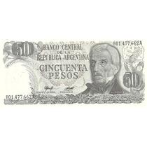 Billete 50 Pesos Ley Reposicion Bottero 2382a Sin Circular