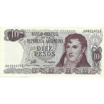 Billete 10 Pesos Tirada Corta Serie E Bot. 2362 Sin Circular