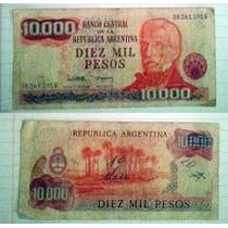 Billete Argentina 10.000 Pesos