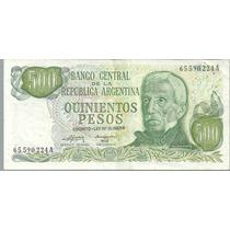 Billete 500 Pesos Ley Bot 2419 Mb
