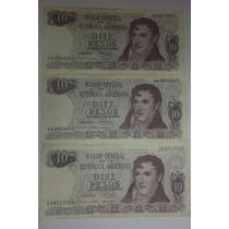 Billetes Antiguo De 10 Pesos