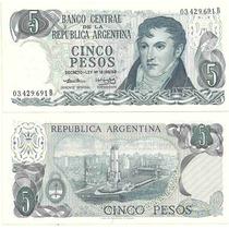 Billete 5 Pesos Ley Bottero 2328a Sin Circular