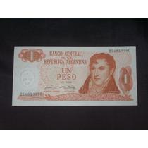 1 Peso Ley 18188. Tirada Corta. Botero 2307