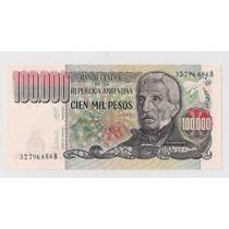 Argentina Billete De 100.000 Pesos Ley Excelente!!!