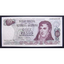 10 Pesos Ley Serie D Bottero 2356 Sin Circular