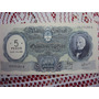 Billete S/ C /moneda Nacional $ 500 Resello $ 5 Ley 18188