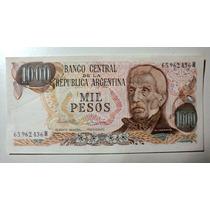 Antiguo Billete Argentino De Mil Pesos, Nuevo