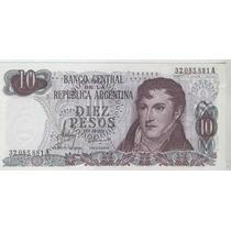 Billete 10 Pesos Ley, El Primero, Bottero 2334 Excelente+