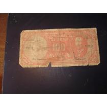Billete Antiguo De Cien Escudos De Chile