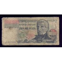 Billete De 100000 Pesos Ley Serie B