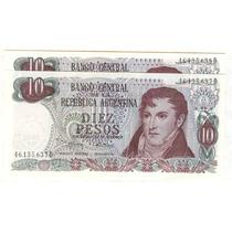 Argentina Billetes $ 10 Ley 18188