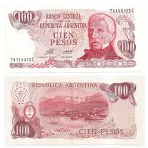 Billete Argentina 100 Pesos Ley 1977 Bot 2405