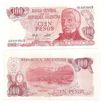 Billete Argentina 100 Pesos Ley 1977 Bot 2408