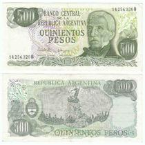 Argentina, Billete De 500 Pesos Ley 18188, Bottero 2433