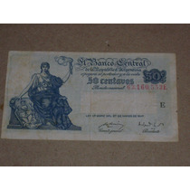 Billete 50 Centavos Moneda Nacional (art. 1373)