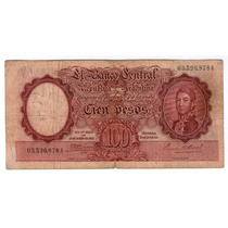 Bottero 2031 100 Pesos Moneda Nacional