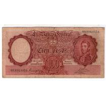 Bottero 2033 100 Pesos Moneda Nacional