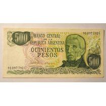 3 Billetes Antiguos De 500 ,de 5.000 Y 50.000 Pesos
