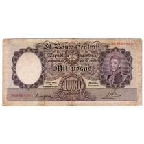 Barese2013 Bottero 2127 Billete 1000 Pesos Moneda Nacional
