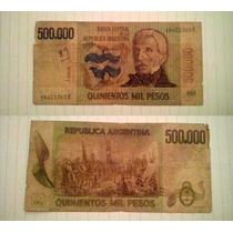 Billete De Argentina, 500.000 Pesos
