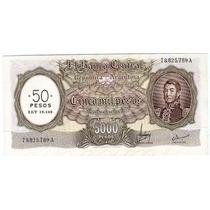 Barese2013 Bottero 2218 5000 Pesos M/nacional A 50 Pesos Ley