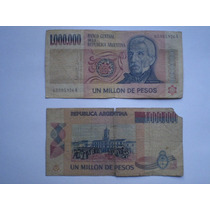 Billete De 1.000.000 De Pesos Moneda Nacional