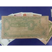 Billete Argentina 1 Peso 1947 Progreso Ref S1