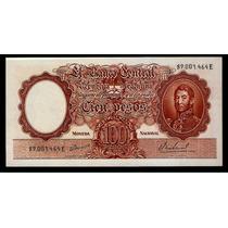 Guardia Imp. Banco Central 100 Pesos 1967 Sin Circular