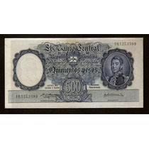 Argentina Banco Central 500 Pesos M/n 1957