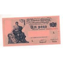 1 Peso M/n Año 1949 Bottero 1837 Cd 4080