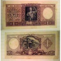 Billete Argentina 1 Peso, 1947