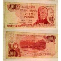 Billete Argentina 100 Pesos