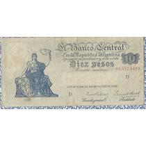 !!!! 10 Pesos Monedas Nacional 1936 Imperdible !!!