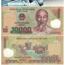 Vietnam Billete Plástico De 10.000 Dong Pick 119 - Sin Circ.