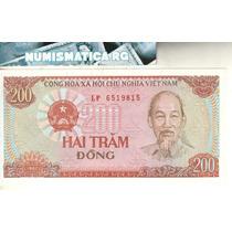 Vietnam Billete De 200 Dong 1987 Pick 100 - Sin Circular