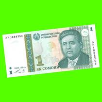 Tayikistán - Billete 1 Somoni 1999 - Tursunzoda ¡ S/ Circ. !