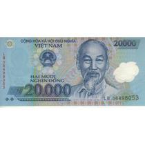 Vietnam Billete Plástico De 20.000 Dong 2006 Pick 120a - Unc