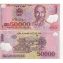 Vietnam 50000 Dong Año 2011 Plastico Sin Circular P# 121