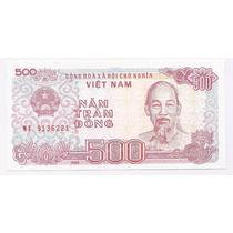 Vietnam, Billete De 500 Dong Del Año 1988 - Pick#101b - Sc