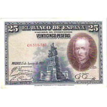 Billete España De 25 Pesetas 1928 Mb ¡aprovecha!