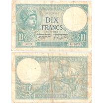B D M / Francia / 10 Francos / 1923 / P#73c