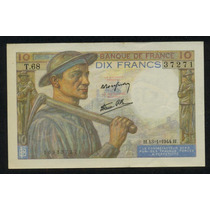 Francia 10 Francos 1944 Hermoso!!!!