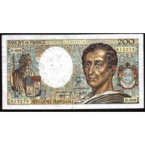 Francia 200 Francos Año 1982 Estado S/c
