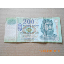 Billete Hungria 200 Ketszaz Forint Año 2007