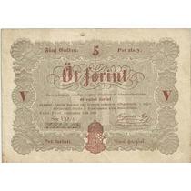 Hungria 5 Forint 1848 S116a Vf+