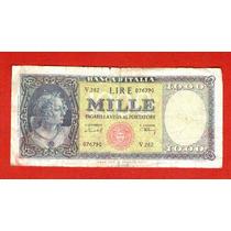 Billete De Italia 1000 Liras
