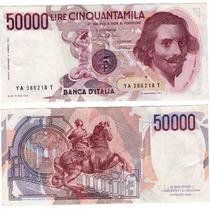 Italia 50000 Lira 1984 Vf++ Muy Escaso!