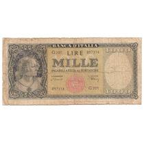 Italia, 1000 Lire, 1948. P#88a. Vg