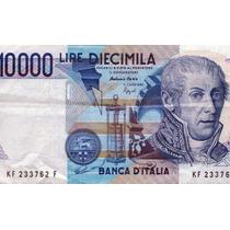Billete De Italia - 10000 Liras - 1984 - En Mendoza