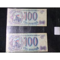 Lote De 6 Billetes De Rusia Y Venezuela
